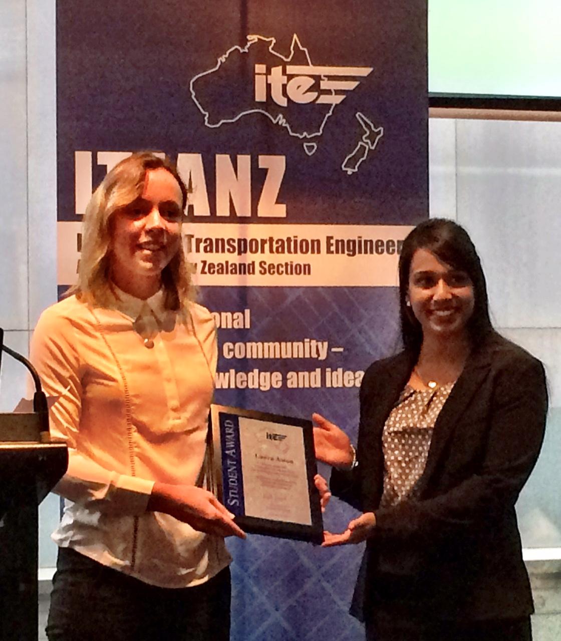 Laura Aston ITE Prize